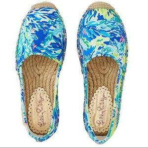 Lilly Pulitzer Lia Espadrille Shoe Wade and Sea